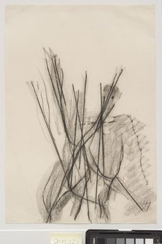 Henri Michaux. Untitled 1944, Pencil rubbing. 14 1/8 x 9 5/8 in. (35.8 x 24.5 cm). © 2014 Micheline Phankim. Photo: Robert Wedemeyer.