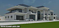 Luxury Homes – Luxury Dale Bungalow Haus Design, Duplex House Design, House Front Design, Modern House Design, 4 Bedroom House Designs, Bedroom House Plans, Closet Designs, Villa Design, Dream House Plans