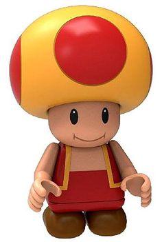 Fire Toad Minifigure K'NEX - New Super Mario Bros U