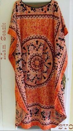 (Tutoriel couture facile) Mamigoz a profité de son passage dans les Iles, pour renouveler sa garde robe. Elle a déniché deux superbes tissus de la taille idéale : 110 X 150 cm. Comme ce sont des nappes, les ourlets sont déjà tout prêts. En une heure et...