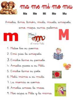 Lecturas prepa Tumi, Words, Google, Alphabet, Kids Writing, Letter Activities, Preschool Reading Activities, Horse