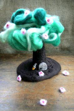 Seasonal Tree Changeable Waldorf Spring by CloudBerryCrafts