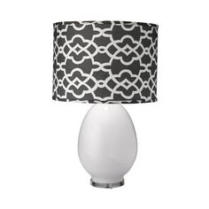 st croix table lamp by jamie young with darker lamp shade for the