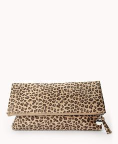 Street-Chic Leopard Clutch | FOREVER21