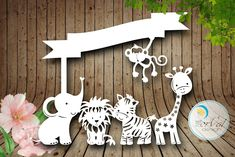 Animal Safari SVG DXF PNG pdf Design - Papercutting Vinyl Template Commercial Use - train papercut - nursery papercut - new baby papercut by PerValDesign on Etsy Quilling Comb, Neli Quilling, Letter S Designs, Diy And Crafts, Paper Crafts, Paper Art, Quilled Roses, Cut Out Art, Silhouette Cameo Machine