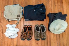 What to pack for Ecuador for men.