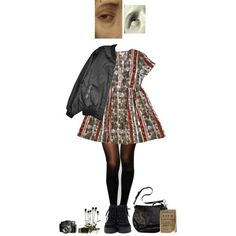 ponder by paper-freckles on Polyvore featuring polyvore Pretty Polly Coach Versace fashion style clothing