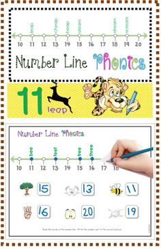 FREE Number Line Phonics (ee/ea) Numbers 10-20 / Vowel Combinations: tree, feet, bee, three, see, greet, bead, meal, beak, read, peak, seal, beach, beam, peach, team, reach, dream, scream, cheap, heap, steam, leap, stream.