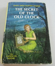 Nancy Drew #1: THE SECRET OF THE OLD CLOCK RARE 1959 Printing HC Carolyn Keene  Please RePinit ~ Thanks & Have a GREAT Day,