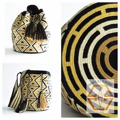 The tradition of weaving plays a significant role in Wayuu culture as it has been passed down from generation to generation for many years. Now, weaving has also become a means of financial support for the people, which enables them to preserve their way of life. Learn more at www.wayuutribe.com $260.00 #Mochila #Wayuu #Wayuutribe #shoulderbag
