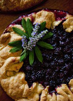 Pretty Blackberry Tart