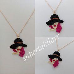 Miyuki Şapkalı Bayan Kolye Designed by @supertakilarr @supertakilar Kendi tasarımım.. #miyuki #handmade #supertakilarr
