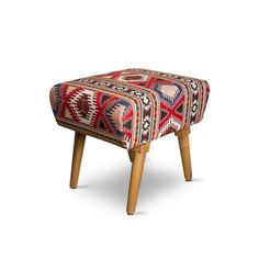 Palettino Tribal Print Stool - Add oodles of style to your home with an exciting range of designer furniture, furnishings, decor items and kitchenware. We promise to deliver best quality products at best prices.