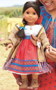 Josefina Montoya is beautiful and I  had to get this meet outfit for the Doll and My Daughter.