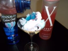Cotton Candy Martini - Cotton Candy Cosmo