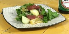Receta Ensalada de Atún con aderezo de cítricos y soya