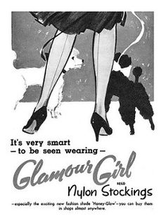 1957 Glamour Girl Stockings ad | by totallymystified