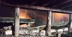 State official: 1 arrested, 2 cited in I-85 fire, collapse