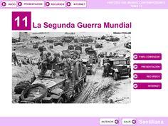 Tema 11: La Segunda Guerra Mundial by José Antonio Arjona Muñoz via slideshare
