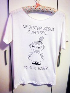 MAŁA MI ... koszulka ręcznie malowana w KIPEKE na DaWanda.com Balerina, Diy Shirt, Cool T Shirts, Funny Tshirts, Cool Stuff, Stuff To Buy, Geek Stuff, Lol, Humor