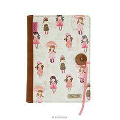 Santoro Gorjuss Felt and PU Traveller Notebook - London Approx. size: wide x high x deep Material: Felt and PU. Travelers Notebook, Woodland, Purses And Bags, Felt, Notes, London, Felting, Report Cards, Feltro