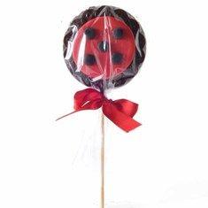Pirulito de Chocolate 70g - Miraculous Ladybug