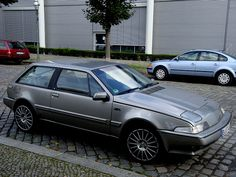 Volvo 480 ('92) - I used to see a ton of these in Sweden and England on my trips...utilitarian, slightly ugly, but oh so cool...
