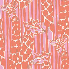Giraffeeey - lilly for target print