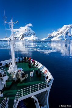 Heading into Lemaire Channel (Between Booth Island & Wilhelm Archipelago), Penola Strait, Antarctica