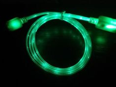 LED-GREEN-Light-Micro-USB-Charger-cable-Sync-Data-Cord-Android-Samsung-Blackberr