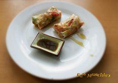 Spring Rolls   Rawmunchies.org   #Raw #vegan  #RECIPE HERE: http://www.rawmunchies.org/recipes #recipe  #Raw #vegan #rawvegan #springrolls #asianrecipes #rolls