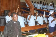 The choir during June Edition of Monthly Revival Service