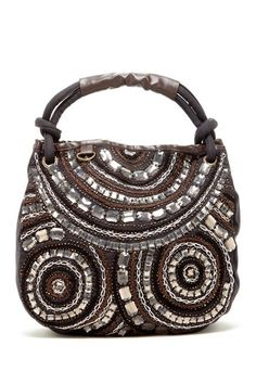 Embellished Jewel Tote by Chaudry on @HauteLook
