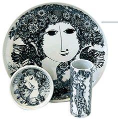 Bjorn Wiinblad Ceramic Tableware, Glass Ceramic, Clay Plates, Pottery Teapots, Scandinavian Art, Statues, Nordic Design, Hand Painted Ceramics, Paintings