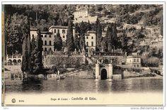 Como - N1005 – CPA Como – Lago di Como – Castello di Urio – ca 1914