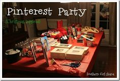 Need a fun girls night??? Try hosting a Pinterest Party. It's so much fun.