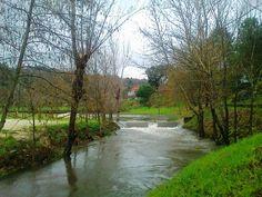 HELDER BARROS: Vila de Celorico de Basto - O Rio Freixieiro já mostra a sua raiva contida, neste inverno muito chuvoso de 2014!