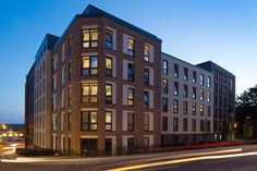 St. John's Student Accommodation in Northampton uses a Synthesis blend of our Freshfield Lane bricks.