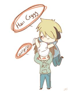 .: LOOK AT THAT COLORING :. by ZKittyStyles.deviantart.com on @deviantART  Pewdiepie and cryaotic