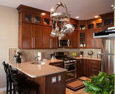 Townhouse kitchen remodel - transitional - Kitchen - New York - Selective Kitchen Design LLC