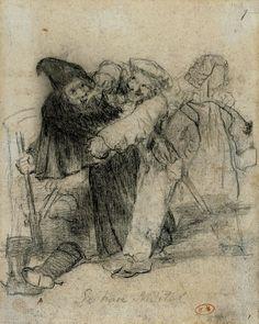 Francisco Goya, Se hare militar on ArtStack #francisco-goya #art