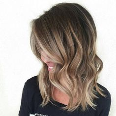 Ombre Medium Length Hair 60 Balayage Hair Color Ideas With Blonde Brown Caramel And Red