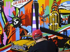 New York | Lobo | Pop Art #lobopopart #artistabrasileiro #paintings #fineart