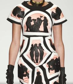 patternprints journal: PRINTS, PATTERNS AND SURFACES FROM LONDON FASHION WEEK (WOMAN COLLECTIONS SPRING/SUMMER 2015) / KTZ