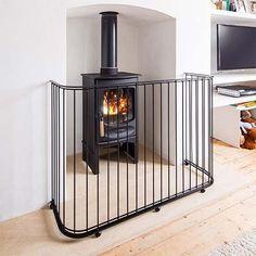 9 best fireplace images fire places fireplace guard baby gates rh pinterest com