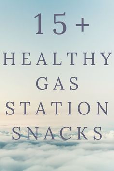 Buying healthy gas station snacks is actually easier than you would expect. Surprisingly, hidden among the yummy sugary treats are some great food options for you and your family! Yogurt And Granola, Baked Chips, Baby Carrots, Food Is Fuel, Healthy Lifestyle Tips, Living A Healthy Life, Eat Right, Gas Station, Healthy Options