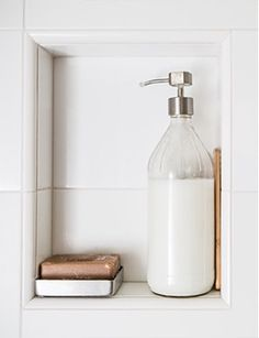 Simple shower from Zero Waste Home