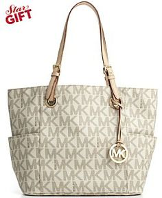 ea5af108bd1d MICHAEL Michael Kors Signature Tote Handbags   Accessories - Macy s