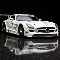 What a car! Mercedes Benz SLS AMG