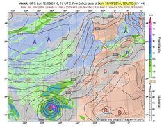 Pronósticos y modelos meteorológicos CANARIAS Septiembre 2016